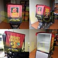 Jual  Tas Obrok Motor -Tas Kurir  - Tas Delivery Box TDB 03  2