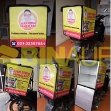 Tas Obrok Motor -Tas Kurir  - Tas Delivery Box TDB 03
