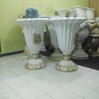 Jual Vas Bunga Fiber/Pot Bunga Fiber TERMURAH Surabaya 1