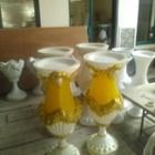 Harga Vas Bunga Fiber/Pot Bunga Fiber KUALITAS PREMIUM Bandung 1