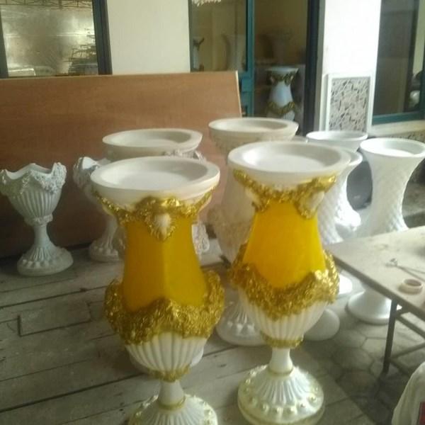 Harga Vas Bunga Fiber/Pot Bunga Fiber KUALITAS PREMIUM Bandung