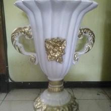 Vas Bunga Fiber/Pot Bunga Fiber MURAH Jakarta