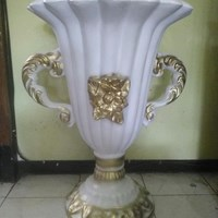 PENGRAJIN Vas Bunga/Pot Bunga Fiber Dekorasi MURAH Kualitas Premium JAKARTA  1