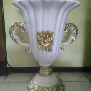 PENGRAJIN Vas Bunga/Pot Bunga Fiber Dekorasi MURAH Kualitas Premium JAKARTA
