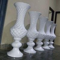 Harga Vas Bunga/Pot Fiber Untuk Dekorasi Pelaminan Di Depok 1