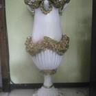 PENGRAJIN Vas Bunga/Pot Fiber Dekorasi Pelaminan MURAH Di Tangerang 1