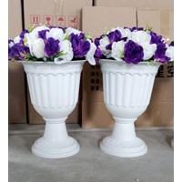 Jual Vas Bunga/Pot Bunga Bahan Fiber Untuk Dekorasi Pernikahan MURAH di Bandung
