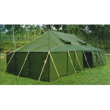 Platoon Tents Size 5 x 14 meters Non Alas