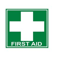 Safety Sign FIRST AID - Ukuran 25 x 30 cm Pertolon