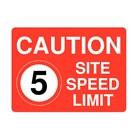 Papan Peringatan - Safety Sign Caution Batas Kecepatan Ukuran 50 x 60 1