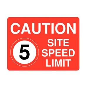 Papan Peringatan - Safety Sign Caution Batas Kecepatan Ukuran 50 x 60