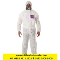 Microgard 1500 PLUS - Baju Coverall ASLI USA - Warna Putih