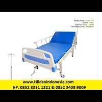 Jual Tempat Tidur Pasien 1 Engkol ABS Bed Pasien Ranjang Medis Crank S20