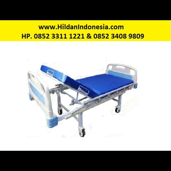 Tempat Tidur Pasien 1 Engkol ABS Bed Pasien Ranjang Medis Crank S20
