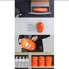 Collapsible Safety Helmet Izano Helmet From DIC Helm Proyek 1