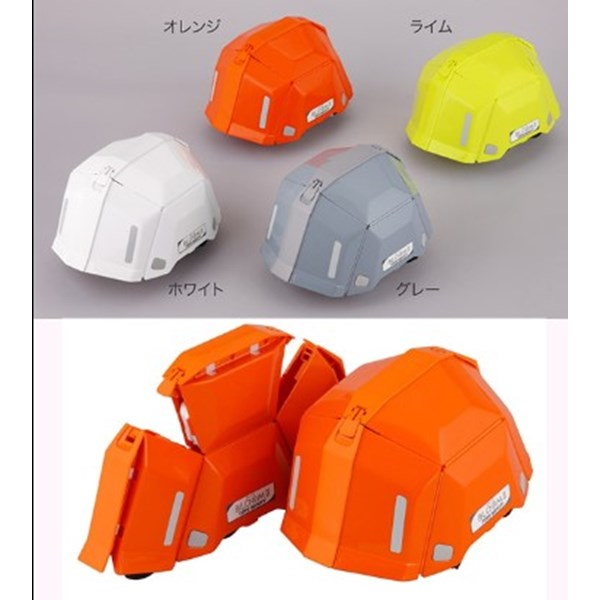 Collapsible helmet  Bloom Helmet From Toyo Safety Helm Proyek