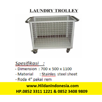 Laundry Trolley - Bahan Stainless Steel