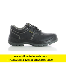Sepatu Safety Jogger Bestrun S3 Hitam Bertali