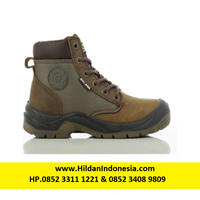 Sepatu Safety Jogger Dakar - Brown - Black S3