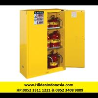 Justrite Type 894500 Kuning - Kabinet Keamanan Industri 45 Galon