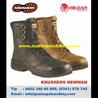 Sepatu Safety KRUSHER NEWMAN Coklat Murah