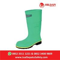 Sepatu Listrik RESPIREX HAZMAX CHEMICAL PROTECTIVE BOOTS - Hijau