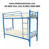Ranjang Susun Besi Merk BUNK Bed Type BB Modern  1