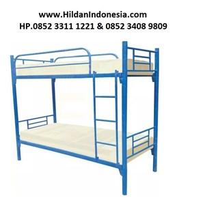Ranjang Susun Besi Merk BUNK Bed Type BB Modern