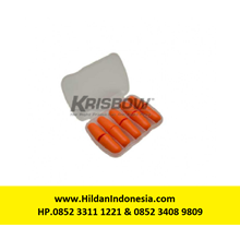 Ear Plug Merk Krisbow Orange Foam Type 10121916