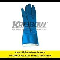 Sarung Tangan Merk Krisbow Type 10153727 Warna Biru