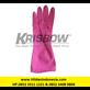 Sarung Tangan Merk Krisbow Type 10153738 Warna Merah Muda