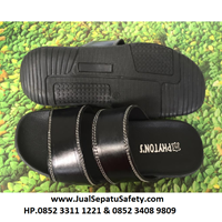 2 Quality SLK Tires Sandals - Black
