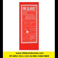 Merk Polaris Fire Blanket Size 1.2 x 1.2 m