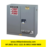 Justrite 893003 Gray Industrial Safety Cabinet