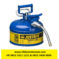 Justrite 7210320 Type II Blue AccuFlow with Hose S