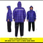 MANTEL Jaket Celana PLEVIA RUSH 811  Motif Kotak - Kotak Jas Hujan   1
