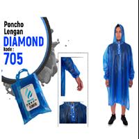 Jas Hujan Plevia PONCHO Lengan DIAMOND Kode 705