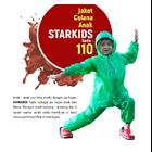 Jas Hujan Anak POLKADOT Plevia 110 STARKID Jaket Celana Setelan Mantel 1