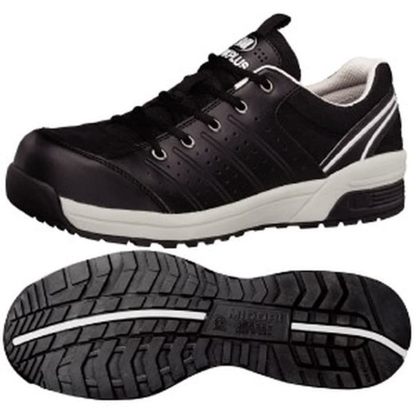 Sepatu Safety SHoes MIDORI Type MPN 301 Hitam