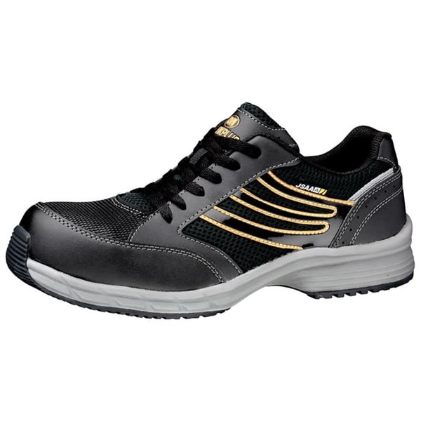 Safety Shoes Merk MIDORI Type SLS 701 Hitam