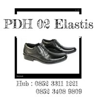 Genuine Leather PDH 02 Elastic Shoes Daily Police