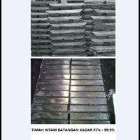 Jual Timah Hitam Batangan Kadar 97% - 99.9%