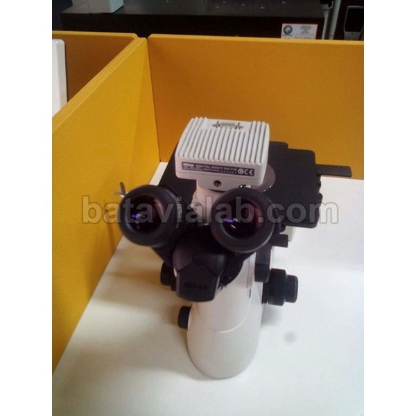 Mikroskop Metalurgi Inverted MA100
