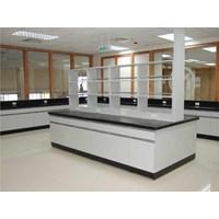 Meja Lab Island Bench Laboratorium