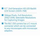 Layar LCD Mikroskop Trinokuler  2
