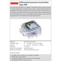 Beli Differential Pressure Transmitter HUBA 4