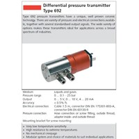 Distributor Differential Pressure Transmitter HUBA 3