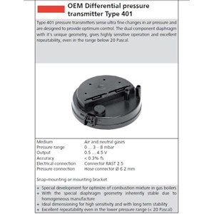 Differential Pressure Transmitter HUBA