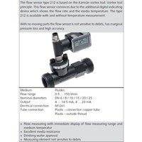 Flow Sensor HUBA
