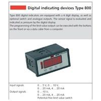 Jual Indokator Digital untuk Pressure & Flow Measurement HUBA